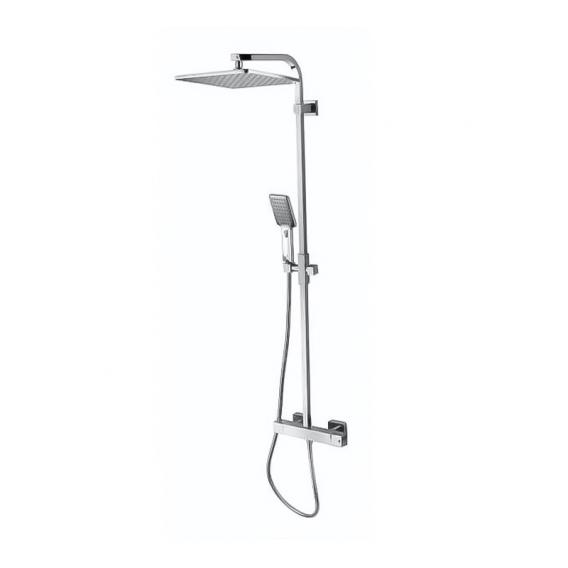 Bossini Cosmo shower system with thermostat fitting