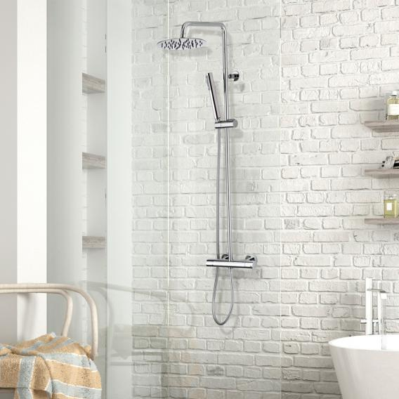 Bossini Twiggy shower system with thermostat fitting