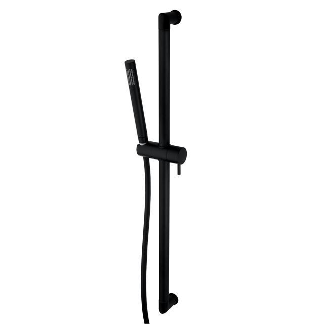 Bossini Black Zen shower rail set