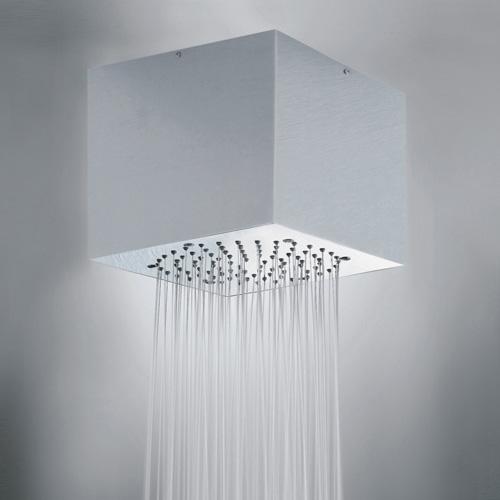 Bossini Cube-Inox overhead shower 210 x 210 mm