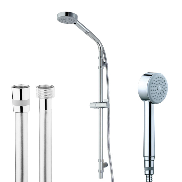 Bossini Cylindrica/1 hand shower set height: 870 mm