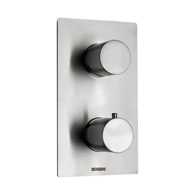 Bossini Inox concealed shower thermostat for 2, 3, 4 or 5 outlets