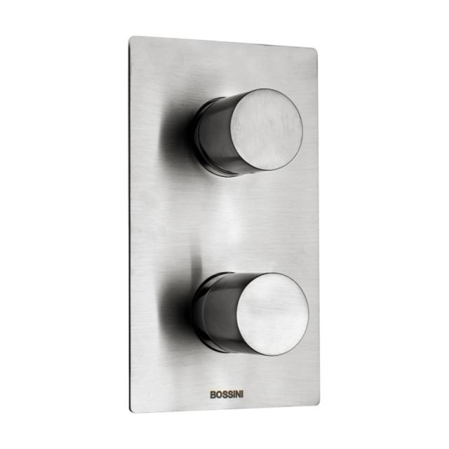 Bossini Inox concealed, single lever shower mixer for 2, 3, 4 or 5 outlets