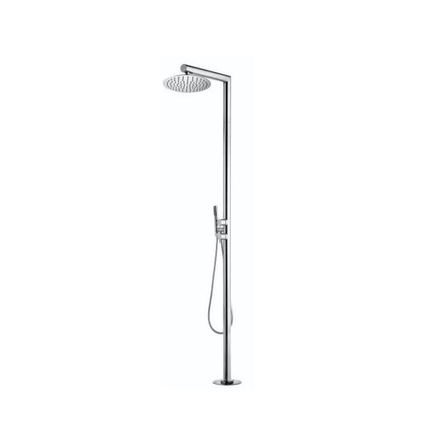 Bossini Nek-Floor shower column for outdoor use