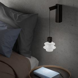 Bover Drop A 01 LED wall light with on/off switch