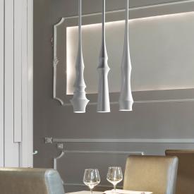 Bover Slend Set 3 pendant light, 3 heads, long-bar