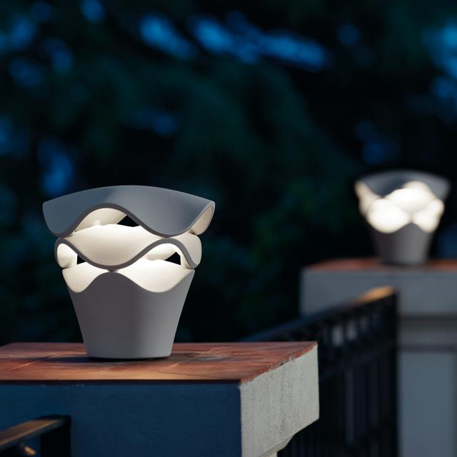 bover Cornet LED pedestal light