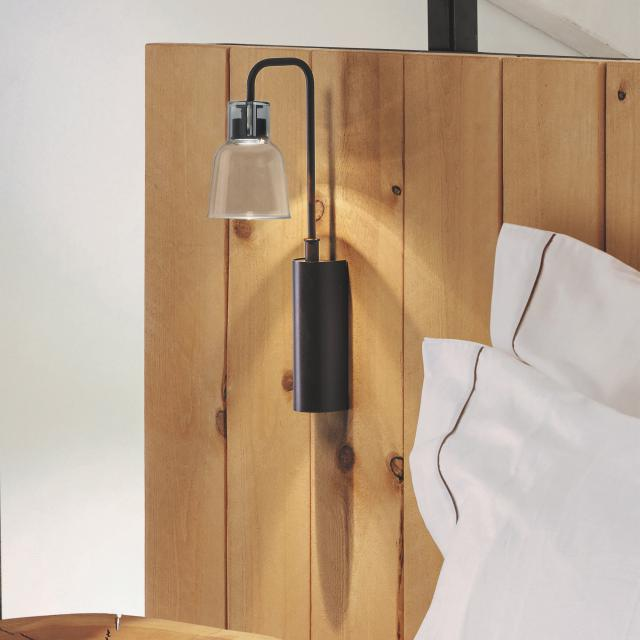 bover Drip A 02 LED wall light with on/off switch