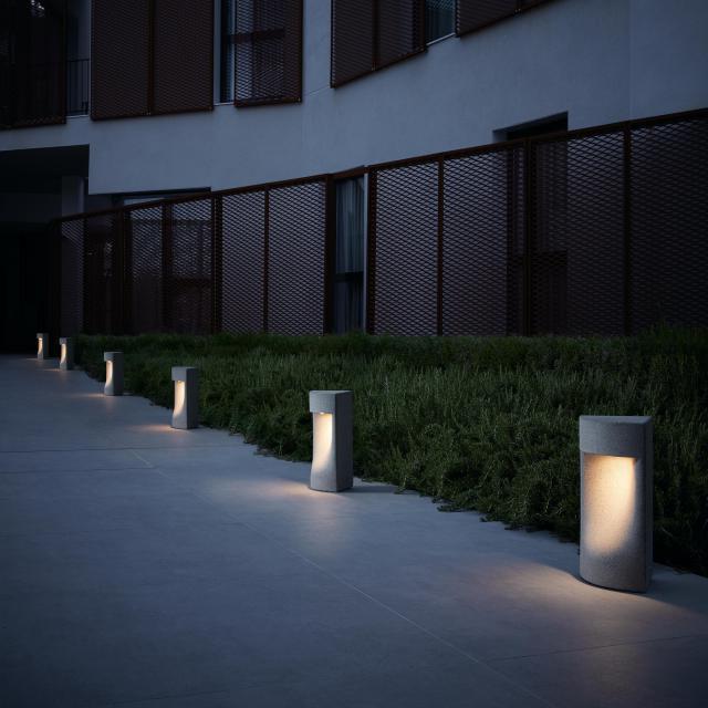bover Moai LED pedestal light