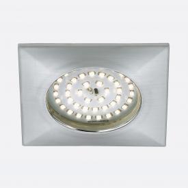 Briloner Attach LED recessed spotlights, square