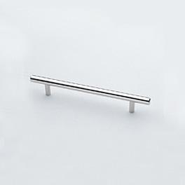 Burgbad bar-shaped handle matt/satin chrome