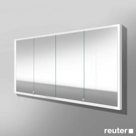 Burgbad Crono built-in LED mirror cabinet with 4 doors