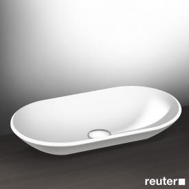 Burgbad Crono countertop washbasin white