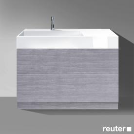 Burgbad Crono mineral cast washbasin