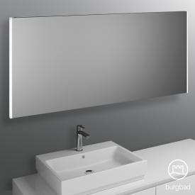 Burgbad Cube mirror with vertical LED lighting