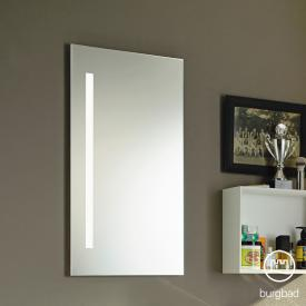 Burgbad Eqio mirror with vertical LED lighting