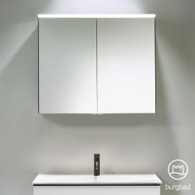Burgbad Fiumo Armoire de toilette avec éclairage LED, 2 portes