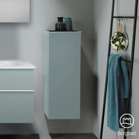 Burgbad Fiumo medium unit with 1 door front soft matt ice blue/corpus soft matt ice blue