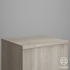 Burgbad Iveo furniture top flanell oak decor