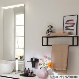 Burgbad Junit wall shelf matt white