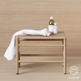 Burgbad Mya bench natural oak