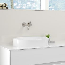 Burgbad RC40 Solitaire countertop washbasin white