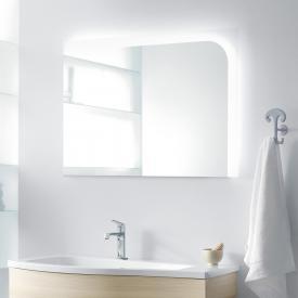 Burgbad Sinea illuminated mirror with LED lighting