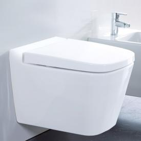 Burgbad wall-mounted, washdown toilet, without seat