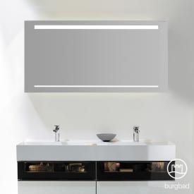 Burgbad Yumo mirror with LED lighting