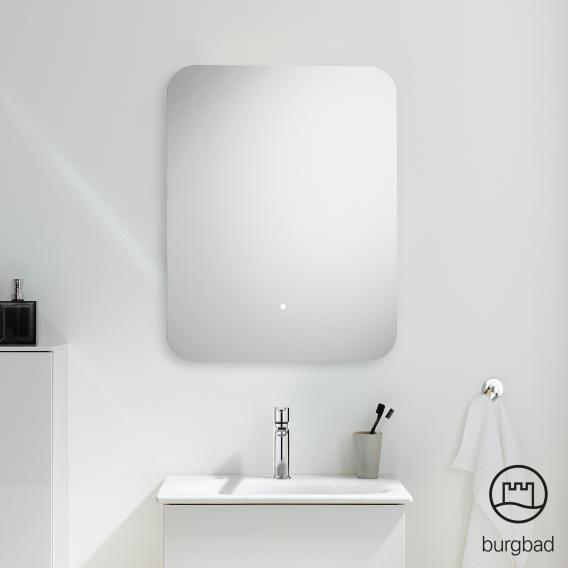 Burgbad Essence mirror with LED lighting