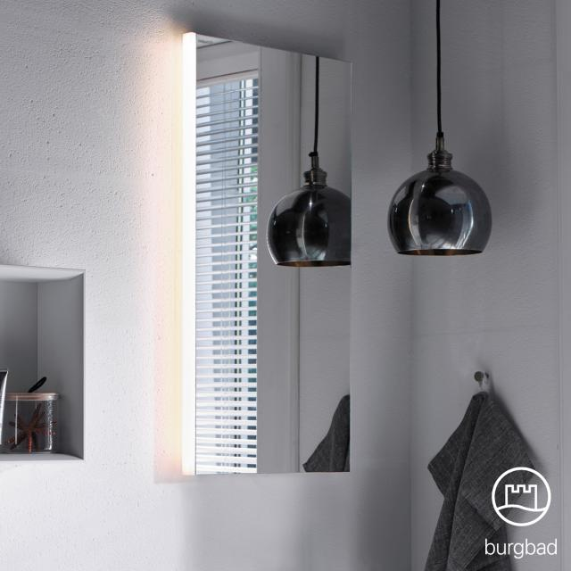 Burgbad Iveo mirror with LED lighting