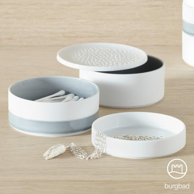 Burgbad SYS30 Aqua set of porcelain bowls small