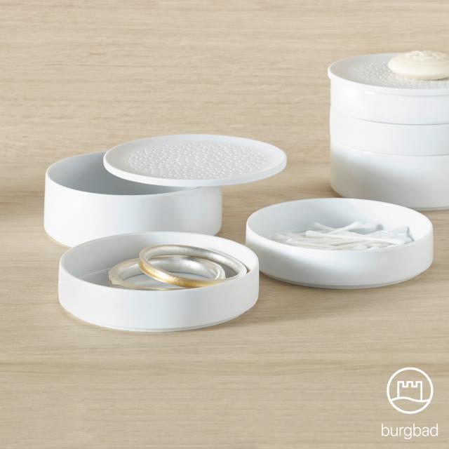 Burgbad SYS30 Aqua set of porcelain bowls large