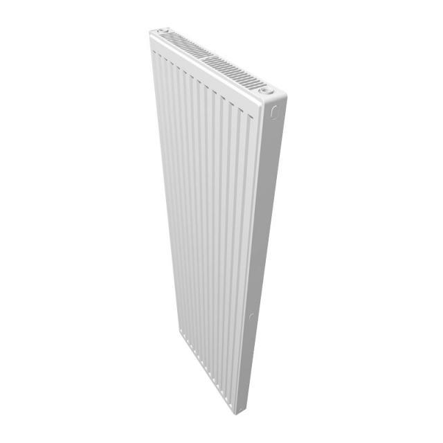 Buderus Logatrend CV profile flat panel radiator vertical compact version white, 1848 Watt