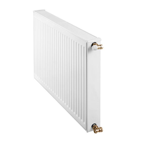 Buderus Logatrend flat panel radiator-compact width 1200 mm, output 2026 watts