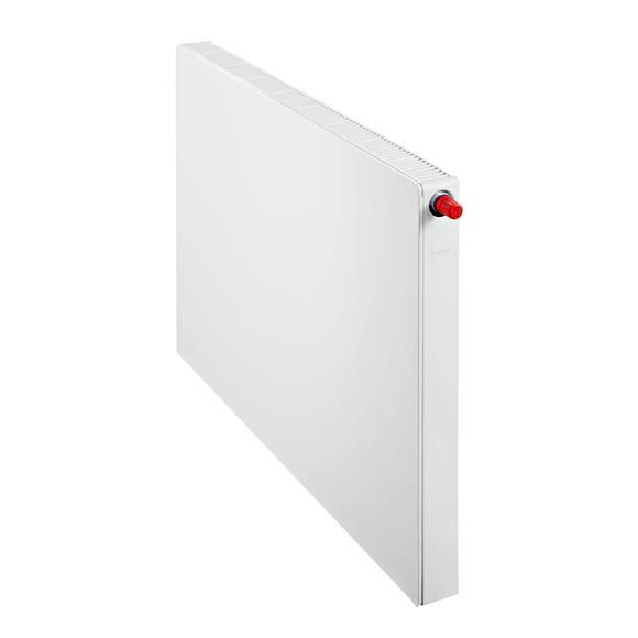 Buderus Logatrend flat panel radiator-Plan valve compact width 1400 mm, output 3321 watts
