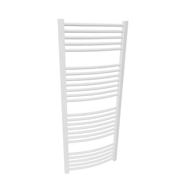 Buderus Logatrend Therm Curve bathroom radiator white, 857 Watt