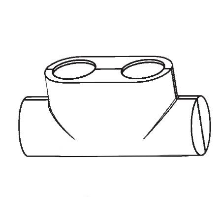 Buderus OV Design cover for Multiblock T white