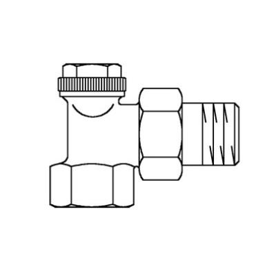 "Buderus radiator connection combi 3, 1/2"""