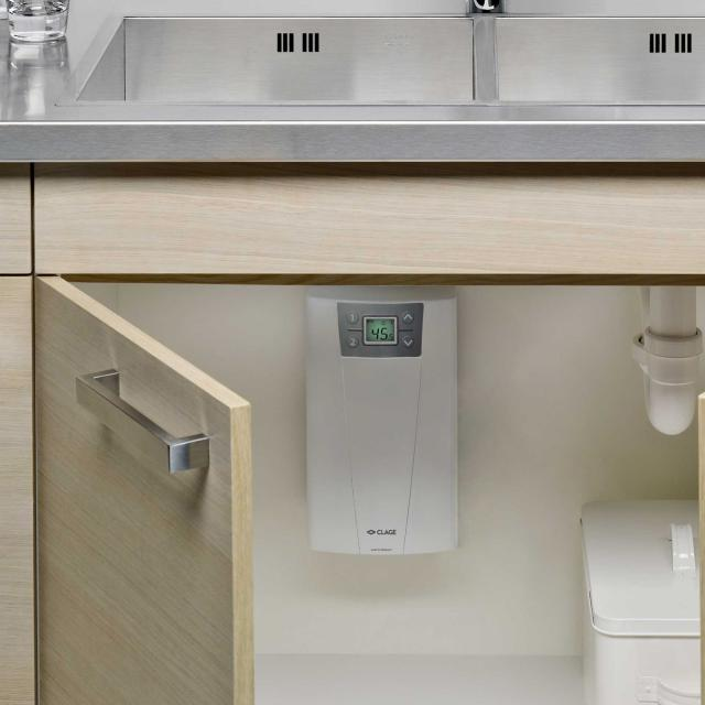 Clage CEX-11/13.5 instantaneous water heater, electronically controlled, 20 - 60°C