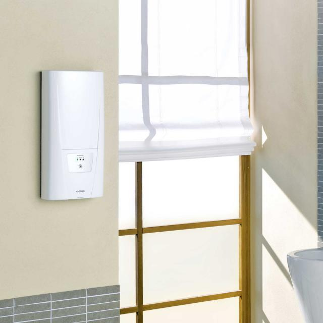 Clage DLX instantaneous water heater, electronically controlled, 35°C, 45°C or 55°C 21 kW