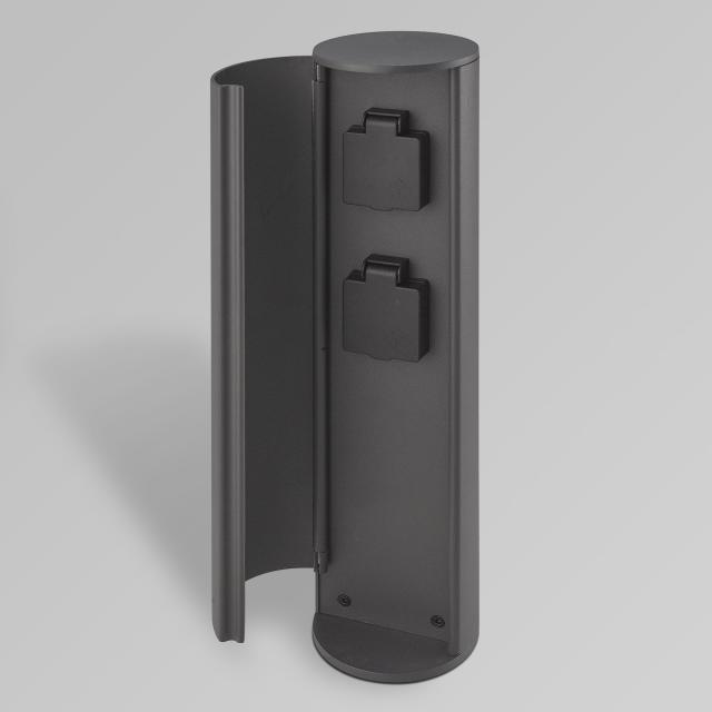 CMD 9016 socket pedestal 2 sockets