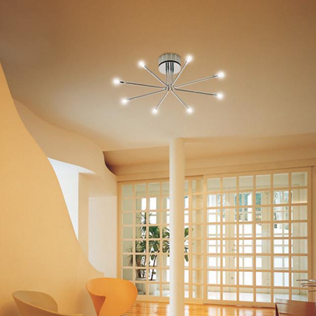CINI&NILS CiniLightSystem composizione 8 ceiling light