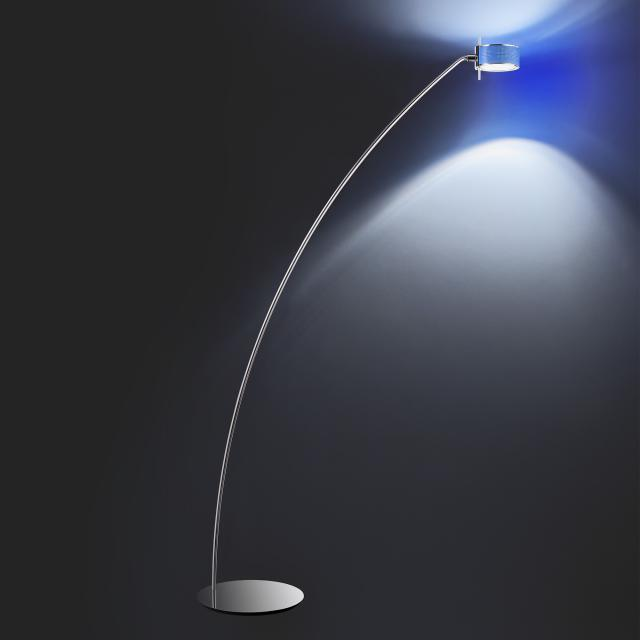CINI&NILS Componi200 uno curva floor lamp with dimmer