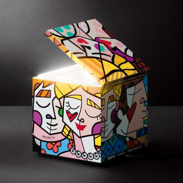 CINI&NILS Cuboluce Britto table lamp, special edition