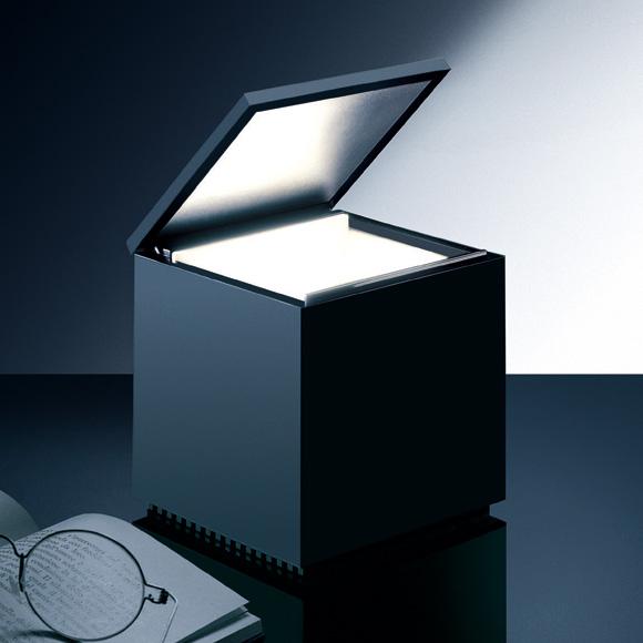 CINI&NILS Cuboluce wireless USB LED table lamp
