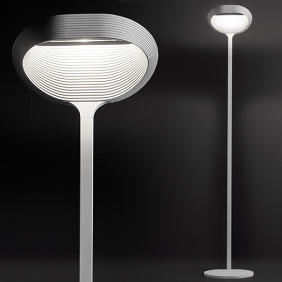 CINI&NILS Sestessa terra alogena floor lamp with dimmer