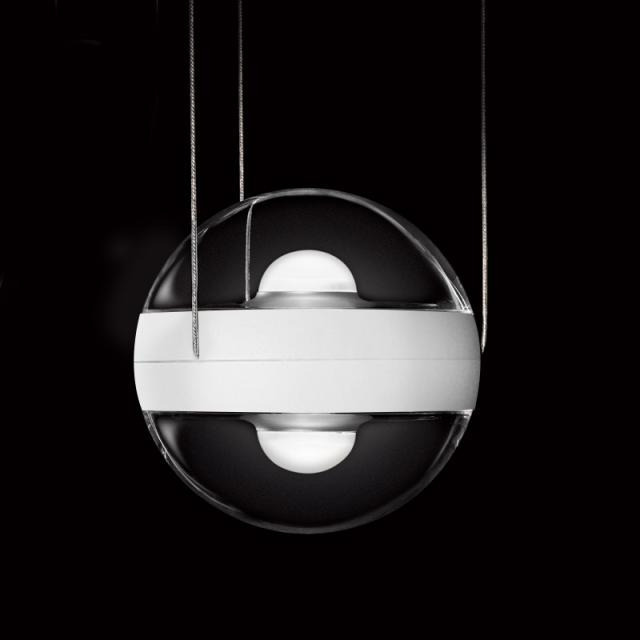 CINI&NILS Sferico sospeso LED pendant light, transparent