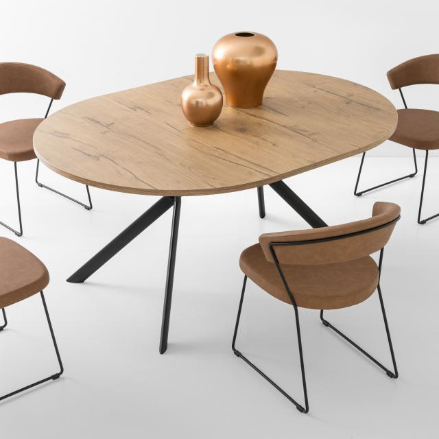 connubia Giove dining table with pull-out
