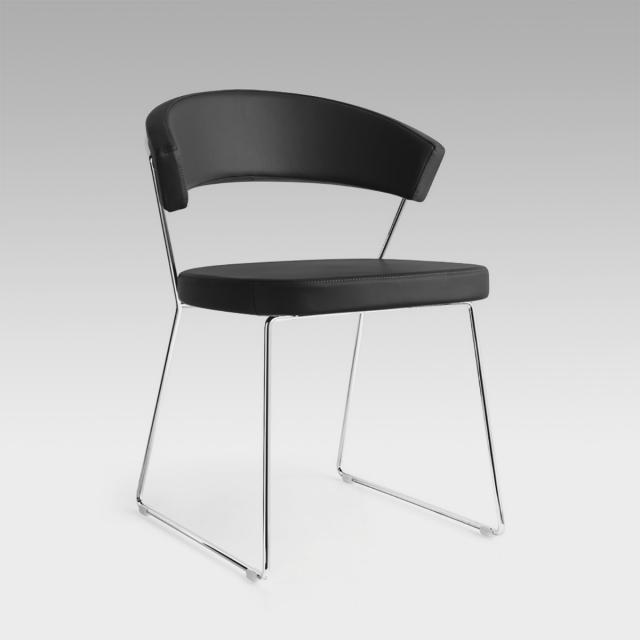 connubia New York chair, genuine leather